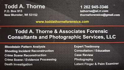 Todd A. Thorne Forensics